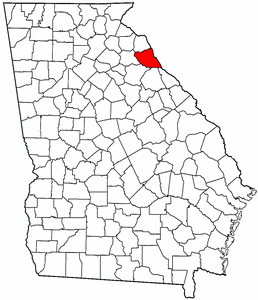 Image:Map of Georgia highlighting Elbert County.png