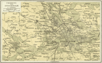 Another 1888 German map that shows more of the outlying areas
