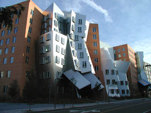 MIT's Stata Center for Computer, Information and Intelligence Sciences